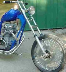 Як подовжити вилку мотоцикла