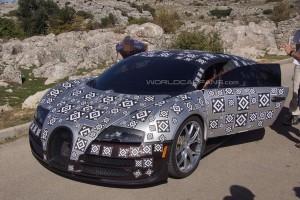 Новый суперкар Bugatti разгонится до 500 км/ч