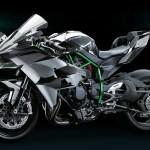 Новый заряженный мотоцикл Kawasaki Ninja H2R 2015