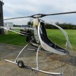 Вертолёт с двигателем от мотоцикла