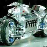 Самый быстрый мотоцикл в мире — Dodge Tomahawk