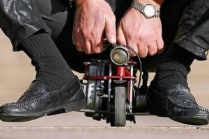 самый маленький мотоцикл в мире