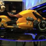 Самый красивый мотоцикл: Мотоцикл будущего Suzuki Biplane
