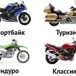 Выбор мотоцикла для начинающих