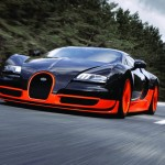 Новый суперкар Bugatti Veyron «запряжет» 1600 лошадей
