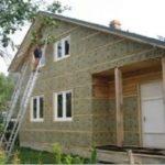 Як утеплити каркасний будинок (утепление дома пенопластом)
