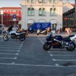 Парковка мотоциклов в Москве