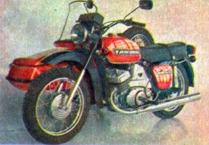 Старое фото легендарного ИЖ Юпитер 5