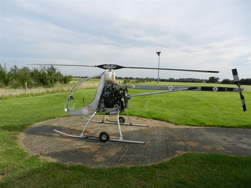 Вертолёт с двигателем Yamaha FZR600